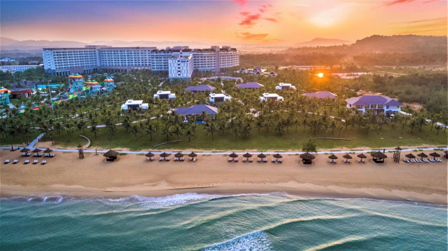 Đón năm mới tại resort cao cấp giữa đảo Ngọc - Ảnh 1.
