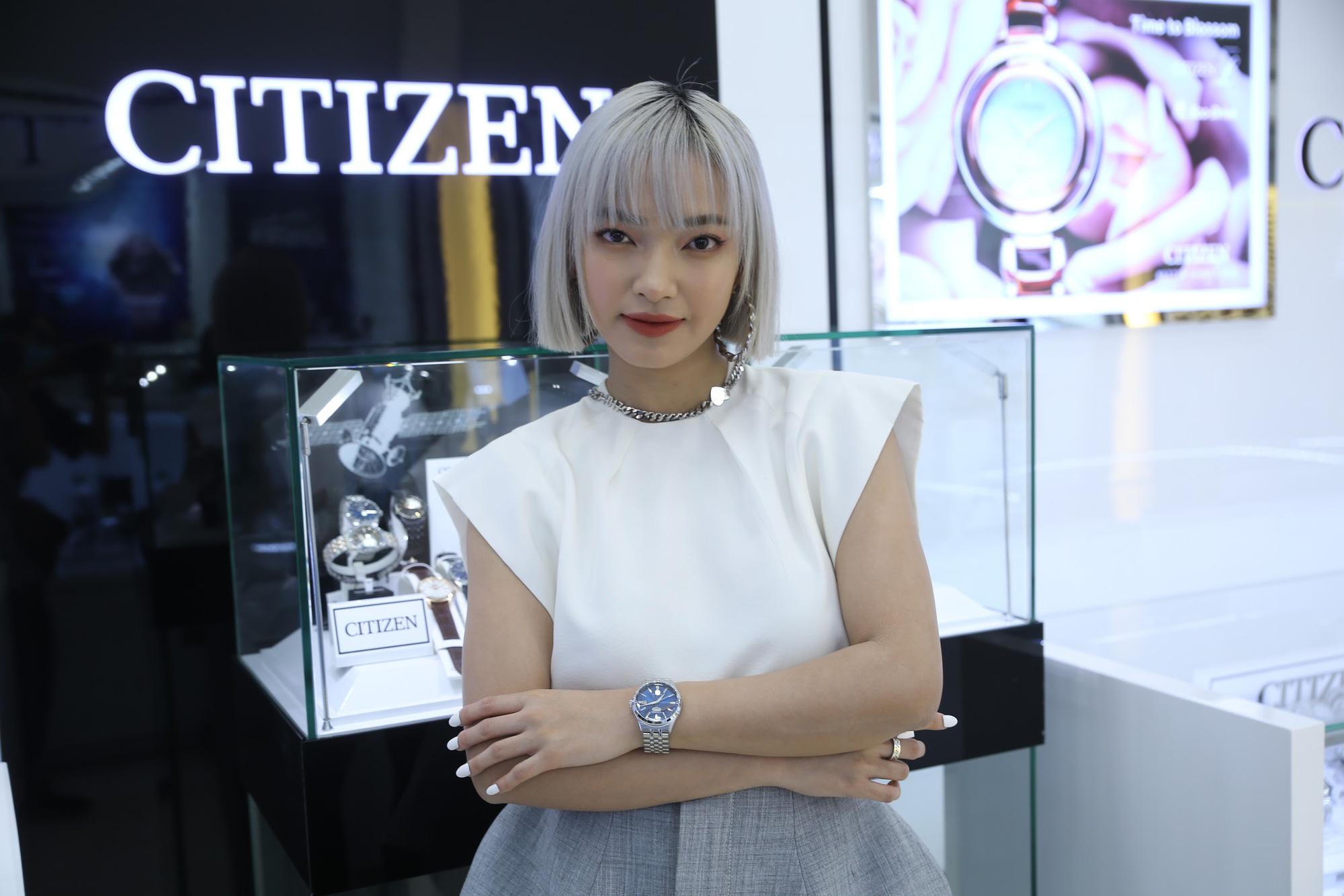 Châu Bùi, Quang Đại khoe thần thái trong sự kiện ra mắt BST mới từ CITIZEN - Ảnh 3.