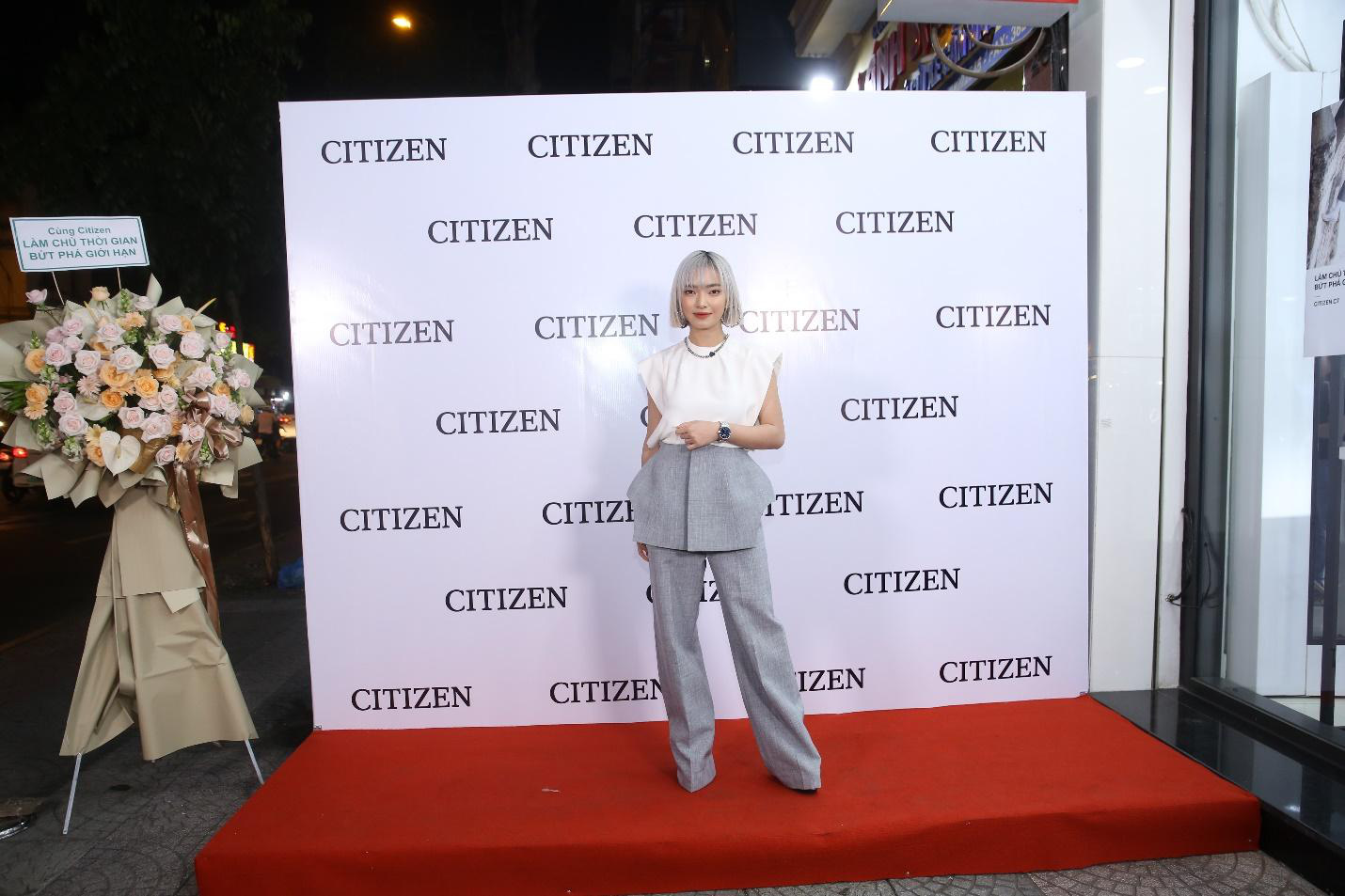 Châu Bùi, Quang Đại khoe thần thái trong sự kiện ra mắt BST mới từ CITIZEN - Ảnh 8.