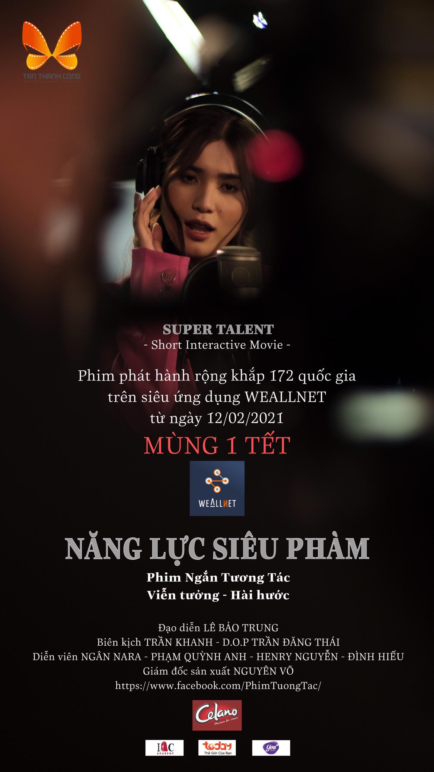 Phát hành phim ngắn tương tác tiên phong tại Việt Nam trên siêu ứng dụng (App) WEALLNET - Ảnh 1.