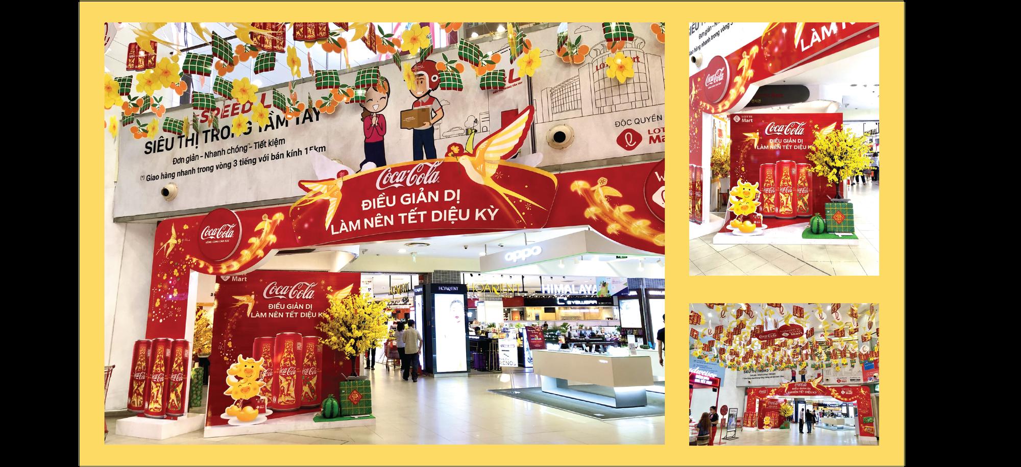Én vàng, sắc đỏ và hành trình lan toả Tết diệu kỳ của Coca-cola sau năm nhiều biến động - Ảnh 4.
