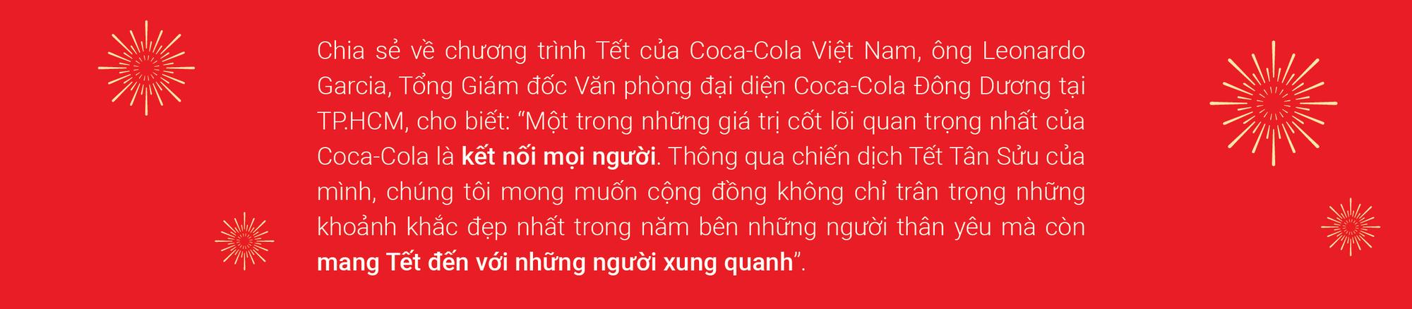 Én vàng, sắc đỏ và hành trình lan toả Tết diệu kỳ của Coca-cola sau năm nhiều biến động - Ảnh 8.