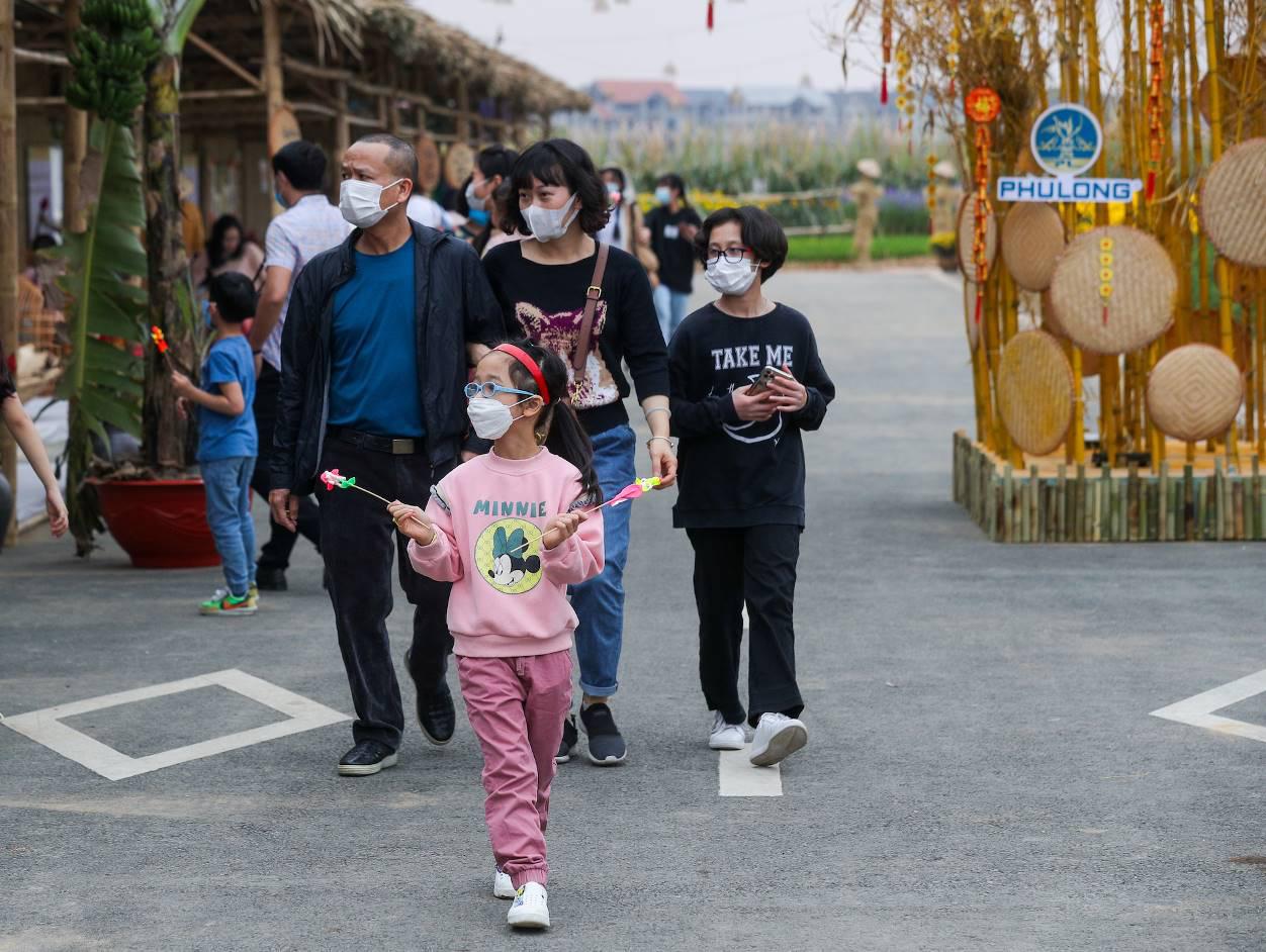 Home Hanoi Xuan 2021 - Nơi gặp gỡ hoa cỏ mùa xuân - Ảnh 5.