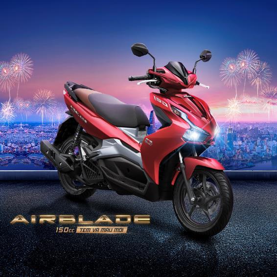 """Honda chơi """"sộp"""" tặng hơn 500 xe Air Blade cho khách hàng may mắn"""
