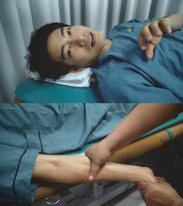 Quang Đăng điều trị đau cột sống để tiếp tục đam mê nhảy múa - Ảnh 4.