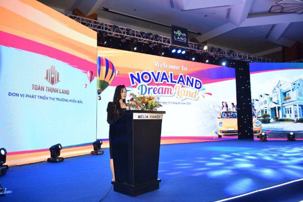 Lễ kí kết hợp tác chiến lược và kick-off sale Novaland miền Bắc - Ảnh 1.
