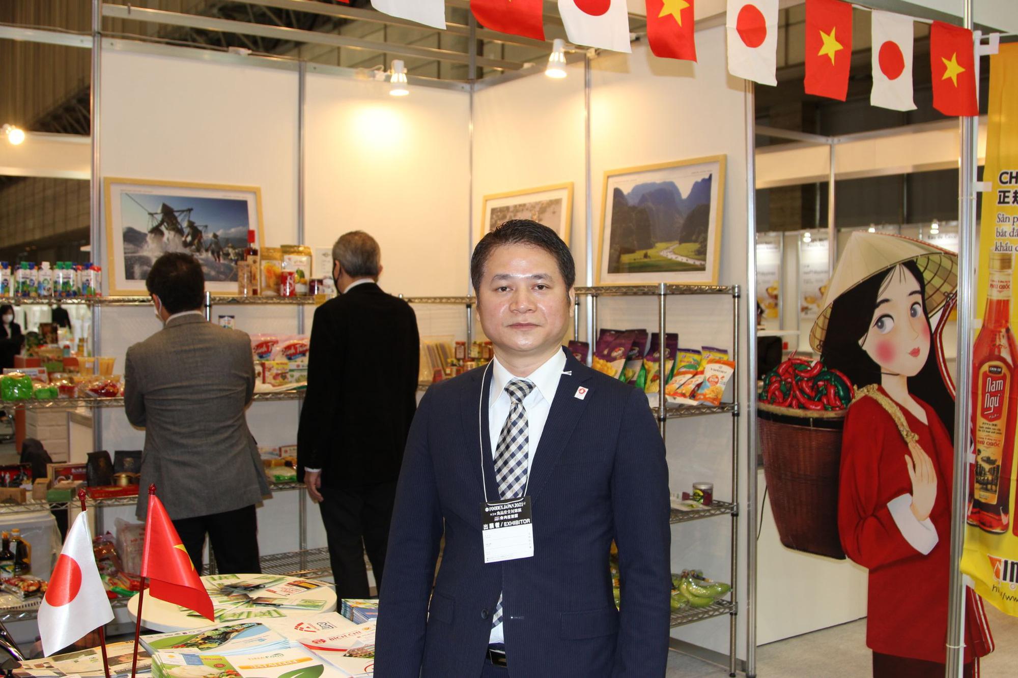 Tương ớt Việt Nam ghi dấu ấn trong triển lãm thực phẩm và đồ uống quốc tế tại Nhật - Ảnh 5.
