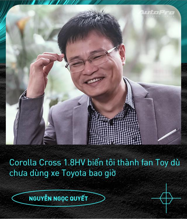 Người dùng đánh giá Toyota Corolla Cross Hybrid: 'Thành fan Toy sau khi được dùng công nghệ xe sang giá mềm' - Ảnh 5.