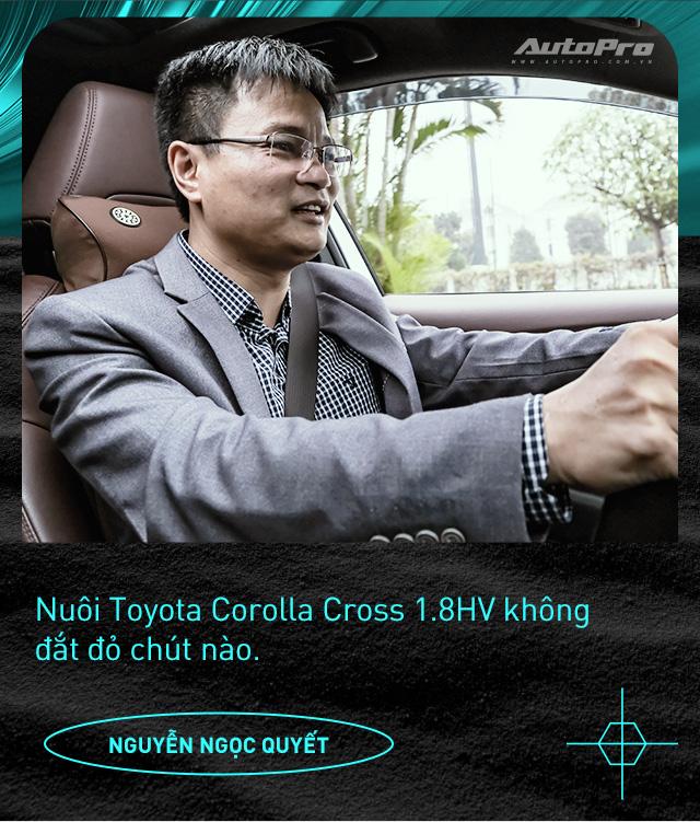 Người dùng đánh giá Toyota Corolla Cross Hybrid: 'Thành fan Toy sau khi được dùng công nghệ xe sang giá mềm' - Ảnh 12.