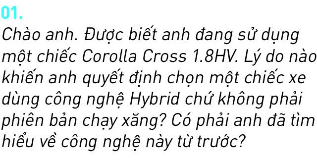 Người dùng đánh giá Toyota Corolla Cross Hybrid: 'Thành fan Toy sau khi được dùng công nghệ xe sang giá mềm' - Ảnh 2.