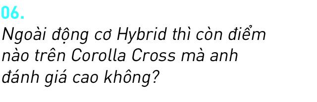 Người dùng đánh giá Toyota Corolla Cross Hybrid: 'Thành fan Toy sau khi được dùng công nghệ xe sang giá mềm' - Ảnh 13.