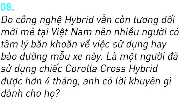 Người dùng đánh giá Toyota Corolla Cross Hybrid: 'Thành fan Toy sau khi được dùng công nghệ xe sang giá mềm' - Ảnh 17.