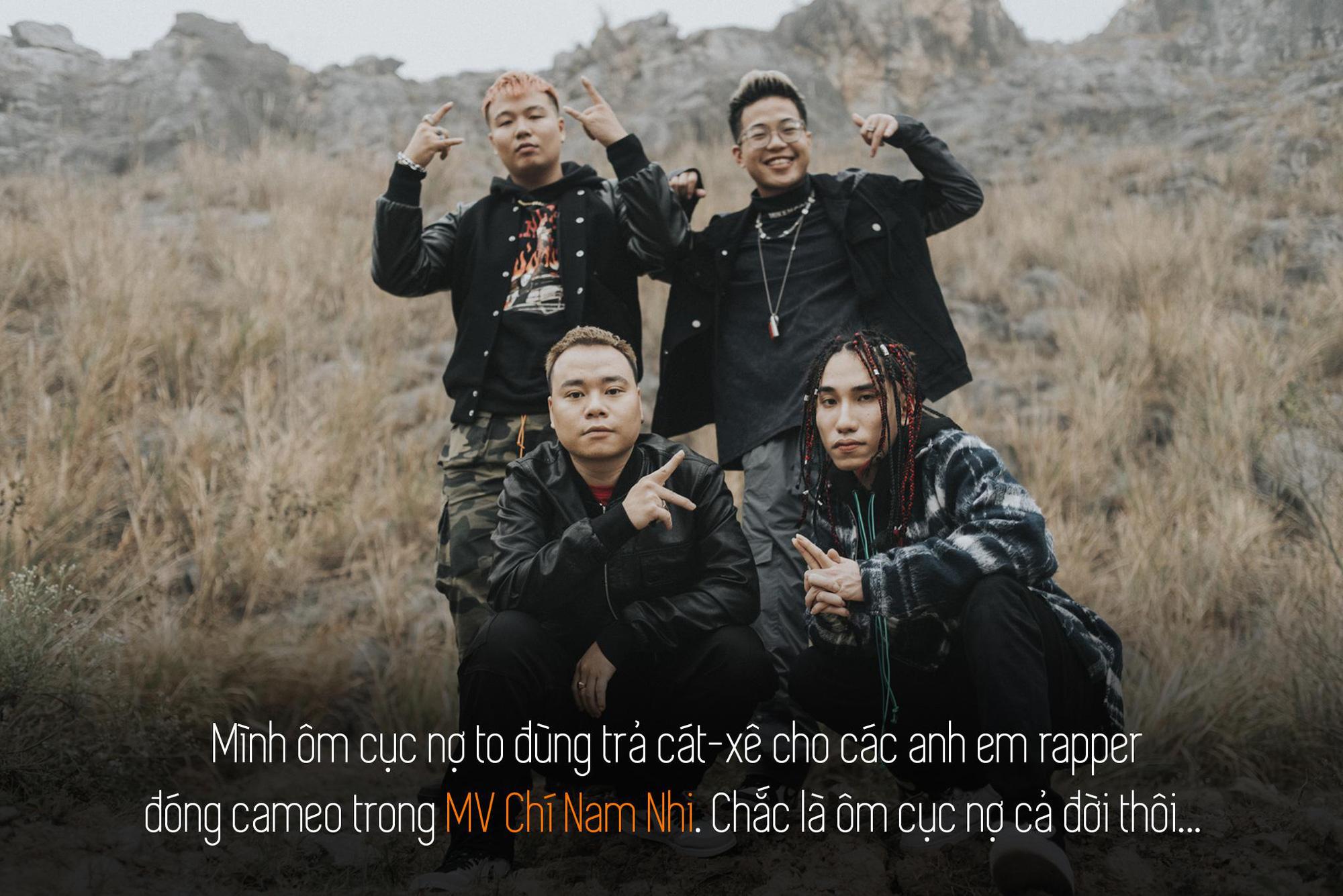 Quân R.E.V trải lòng sau MV Chí Nam Nhi: Tôi tự đẩy mình vào thử thách, làm rap nhưng phải đậm chất Việt Nam - Ảnh 2.