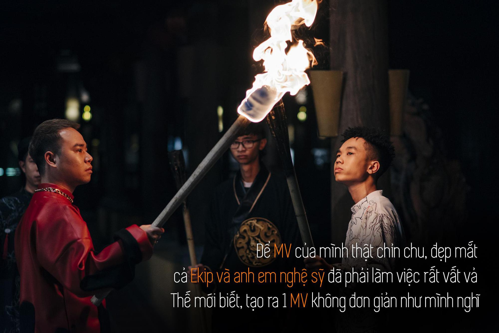 Quân R.E.V trải lòng sau MV Chí Nam Nhi: Tôi tự đẩy mình vào thử thách, làm rap nhưng phải đậm chất Việt Nam - Ảnh 3.
