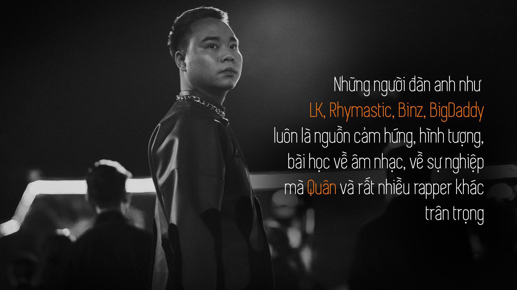 Quân R.E.V trải lòng sau MV Chí Nam Nhi: Tôi tự đẩy mình vào thử thách, làm rap nhưng phải đậm chất Việt Nam - Ảnh 4.