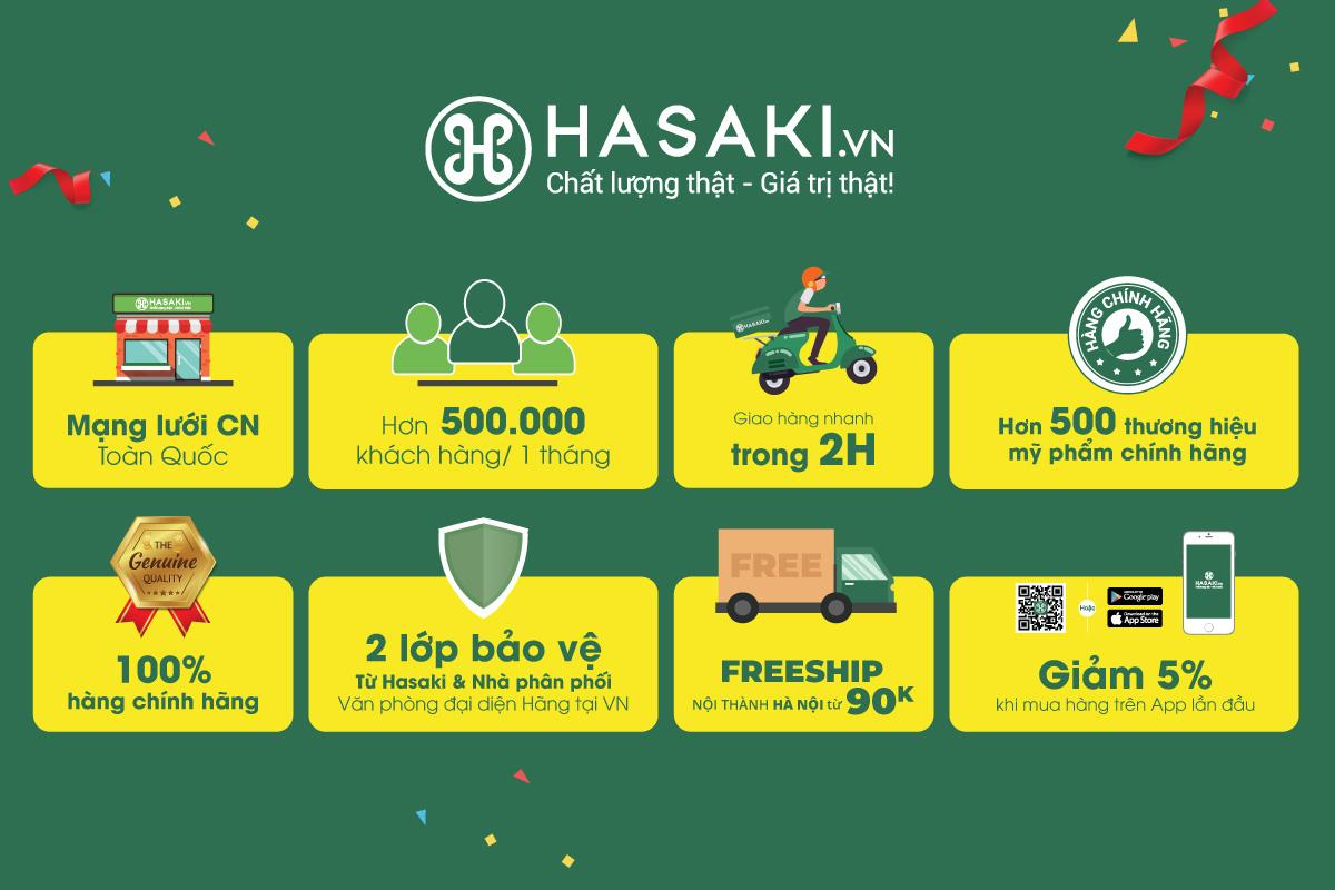 HOT: Hasaki chi nhánh 16 tại Hà Nội sẽ khai trương vào ngày 7/3, các tín đồ chuẩn bị mua sắm thả ga với hàng loạt deal HOT chỉ 1K, 8K, 2K - Ảnh 5.