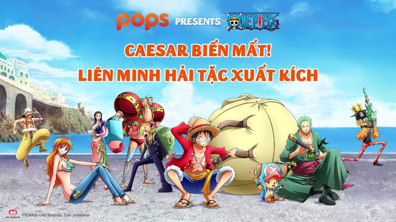Hơn 260 tập One Piece lồng tiếng sẵn sàng đãi fan trên ứng dụng POPS - Ảnh 2.