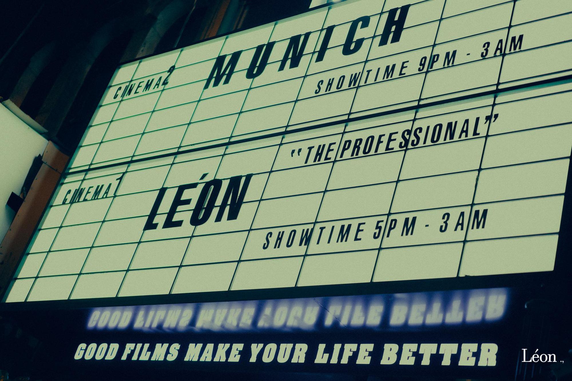 Léon: Quán cocktails mang phong cách rạp phim nhất định phải đến một lần - Ảnh 3.