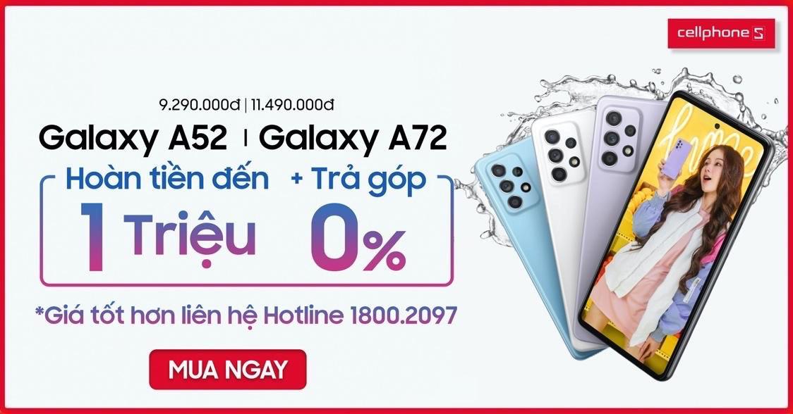 Top 5 lí do khiến Galaxy A52 là smartphone đáng mua phân khúc 8 triệu - Ảnh 1.