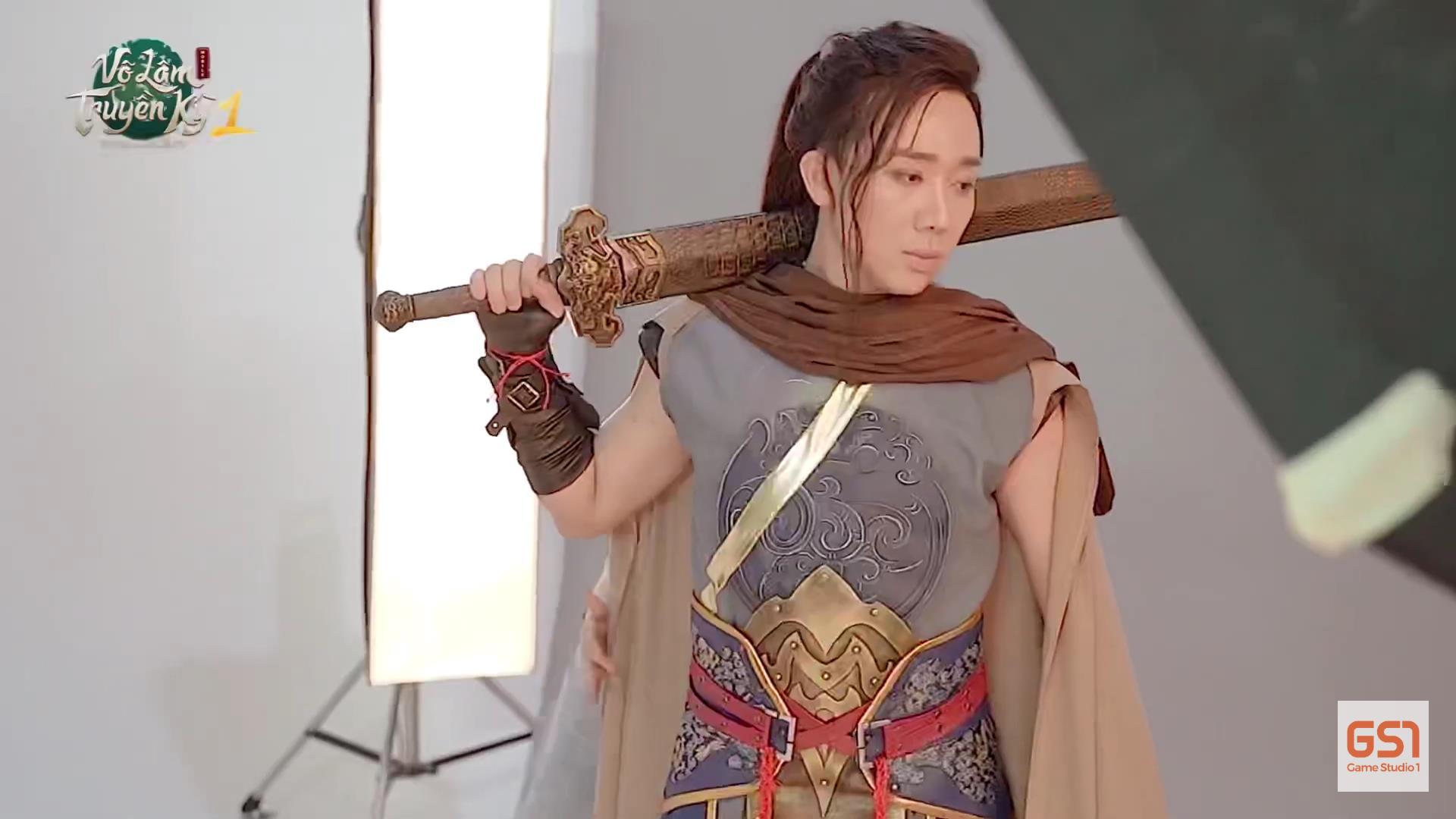 Trấn Thành - đại sứ của Võ Lâm Truyền Kỳ 1 Mobile có màn hóa thân đầy bất ngờ trong video hậu trường - Ảnh 5.