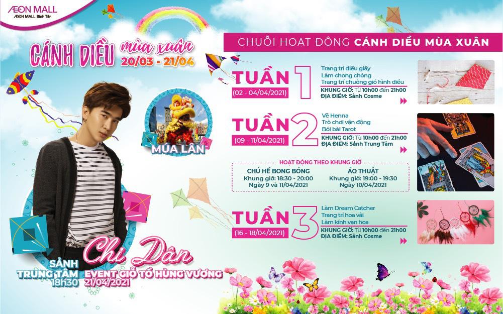 AEON Mall Bình Tân mang xuân trở lại, tặng e-voucher cho khách hàng tải app - Ảnh 3.