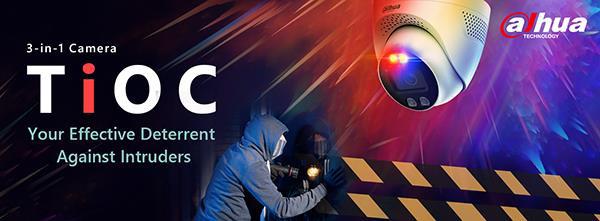 Dahua ra mắt Camera TiOC: An ninh thông minh, có thể báo động ngay lập tức khi phát hiện xâm nhập bất thường - Ảnh 1.