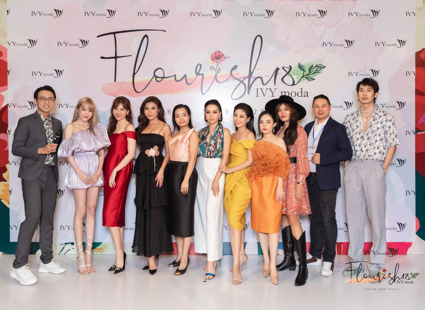 5 điểm nhấn đắt giá trong show diễn tràn đầy đam mê của IVY moda - Ảnh 1.