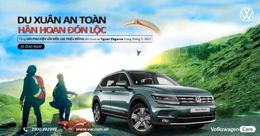 Tặng Gói phụ kiện 100 triệu cho SUV bán chạy nhất của Volkswagen - Ảnh 4.