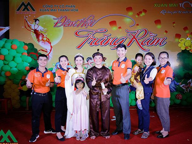 Chung cư Xuân Mai Tower Thanh Hóa tổ chức đêm hội trăng rằm 2020 - Ảnh 1.