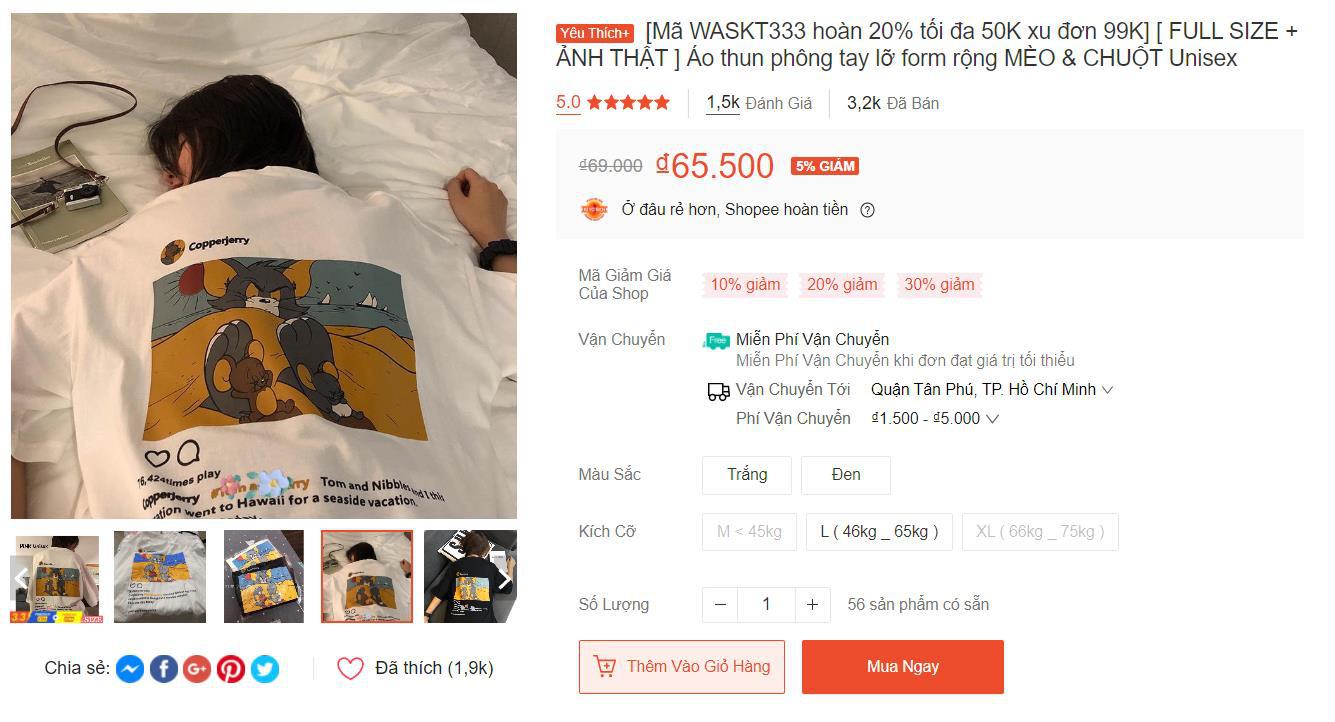 Top những chiếc áo cực trendy đang được săn lùng nhiều nhất trên Shopee, có món giá mua hôm nay chỉ 19K! - Ảnh 13.
