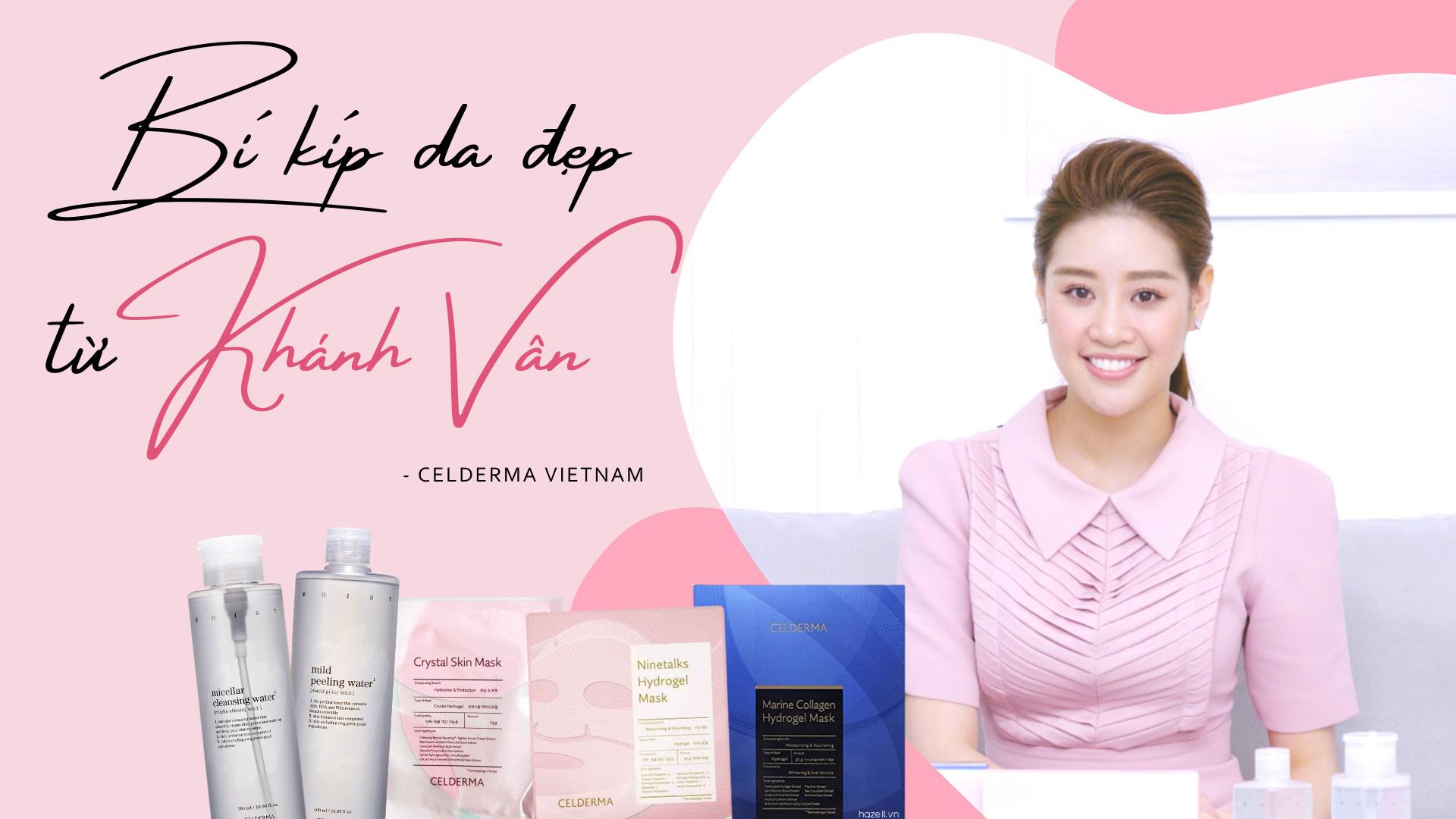 Hoa hậu Khánh Vân chuộng tẩy trang, mặt nạ thạch Celderma do Song Ji Hyo đại diện - Ảnh 2.