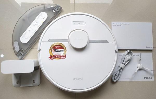 Robot Vacuum Dreame D9 với lực hút cực mạnh 3000Pa thuộc hãng Dreame - Ảnh 1.