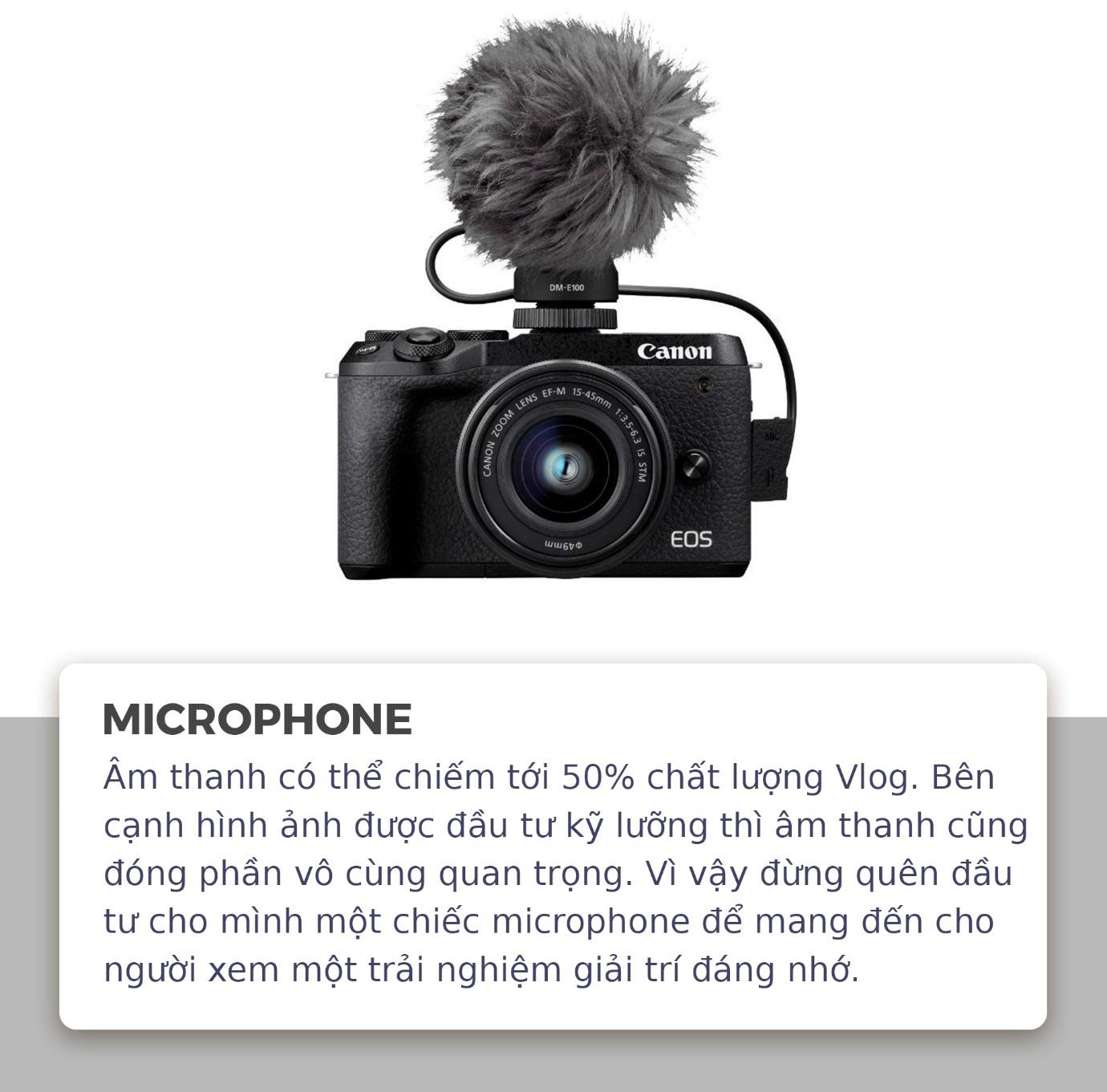Nếu bạn đam mê làm Vlog thì tuyệt đối đừng bỏ qua những thiết bị này - Ảnh 1.