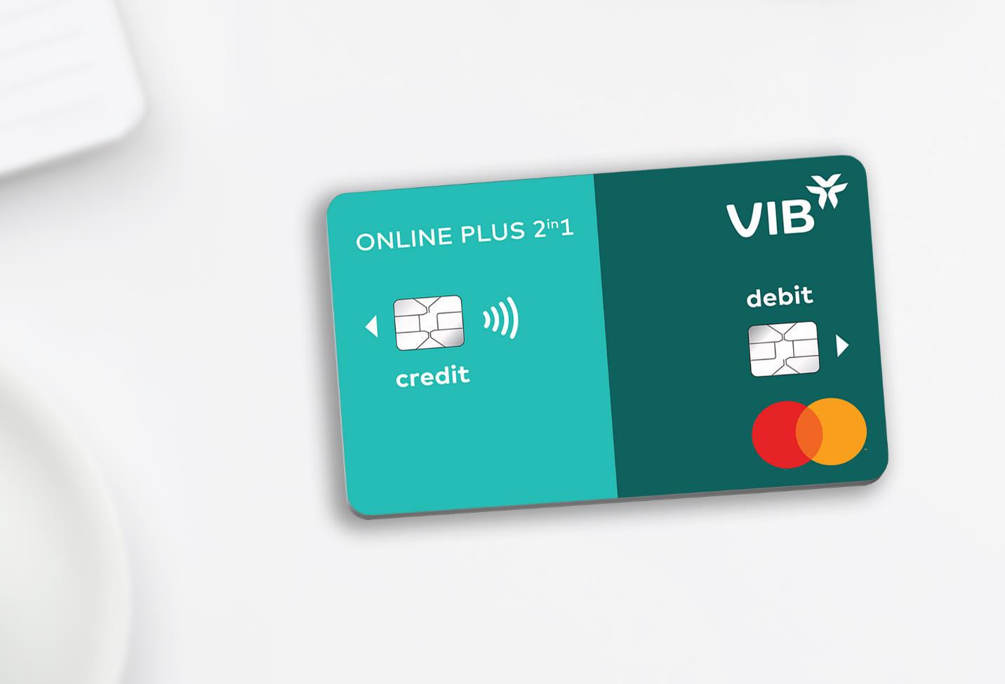 VIB ra mắt dòng thẻ tích hợp thẻ tín dụng và thanh toán - Ảnh 1.