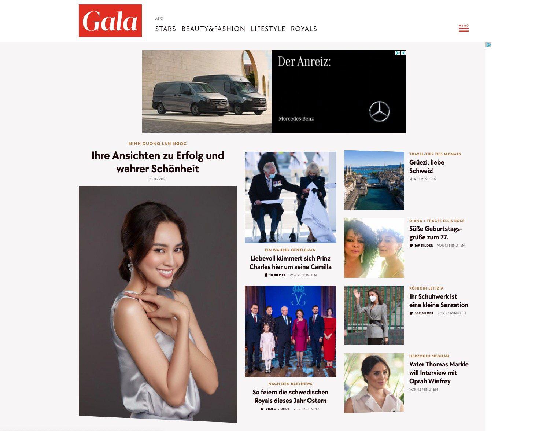 Ninh Dương Lan Ngọc đích thị là nữ hoàng quảng cáo thế hệ mới: Kết hợp với nhãn hàng nổi tiếng, còn xuất hiện nổi bật trên tạp chí của Đức - Ảnh 2.