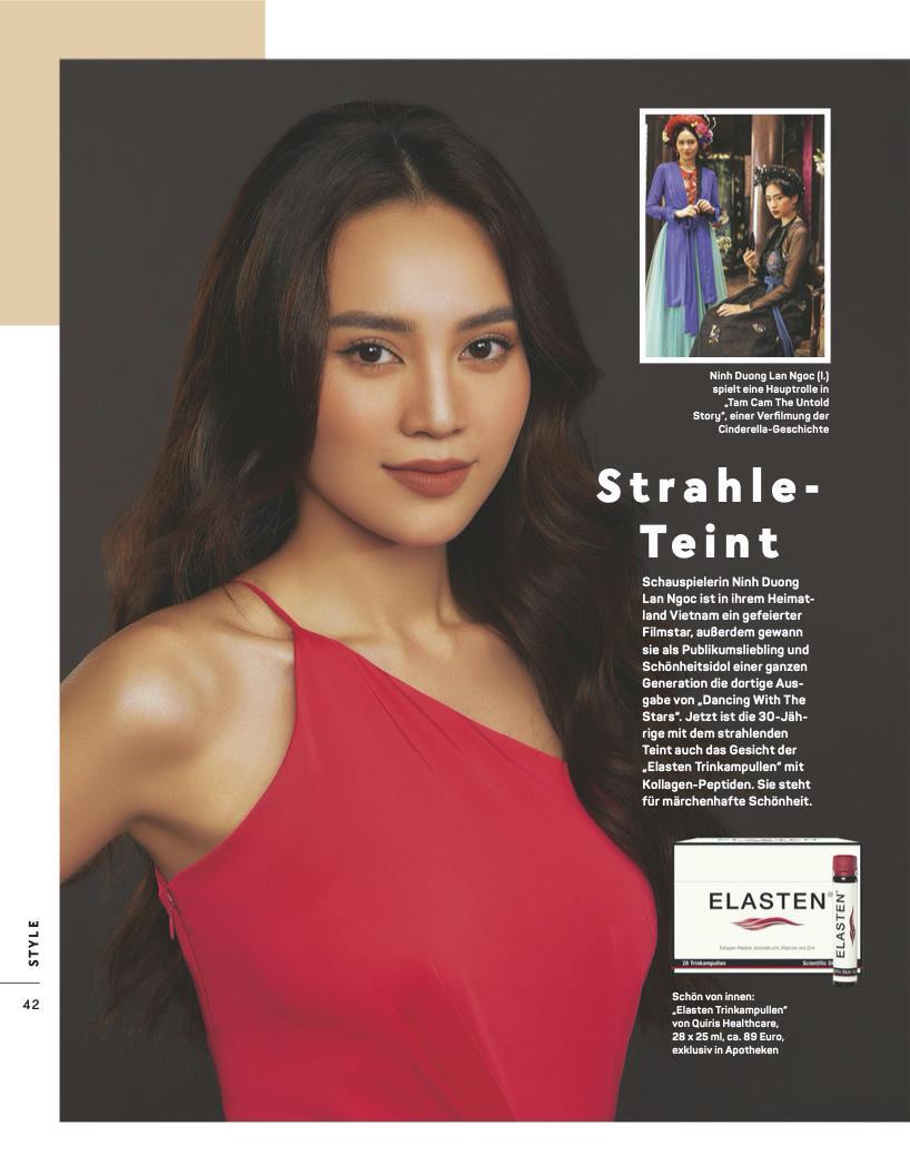 Ninh Dương Lan Ngọc đích thị là nữ hoàng quảng cáo thế hệ mới: Kết hợp với nhãn hàng nổi tiếng, còn xuất hiện nổi bật trên tạp chí của Đức - Ảnh 3.