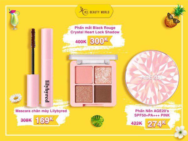 """Mới đầu hè, AB Beauty World đã """"chơi lớn"""" giảm giá đến 50% loạt mỹ phẩm hàng hiệu - Ảnh 2."""