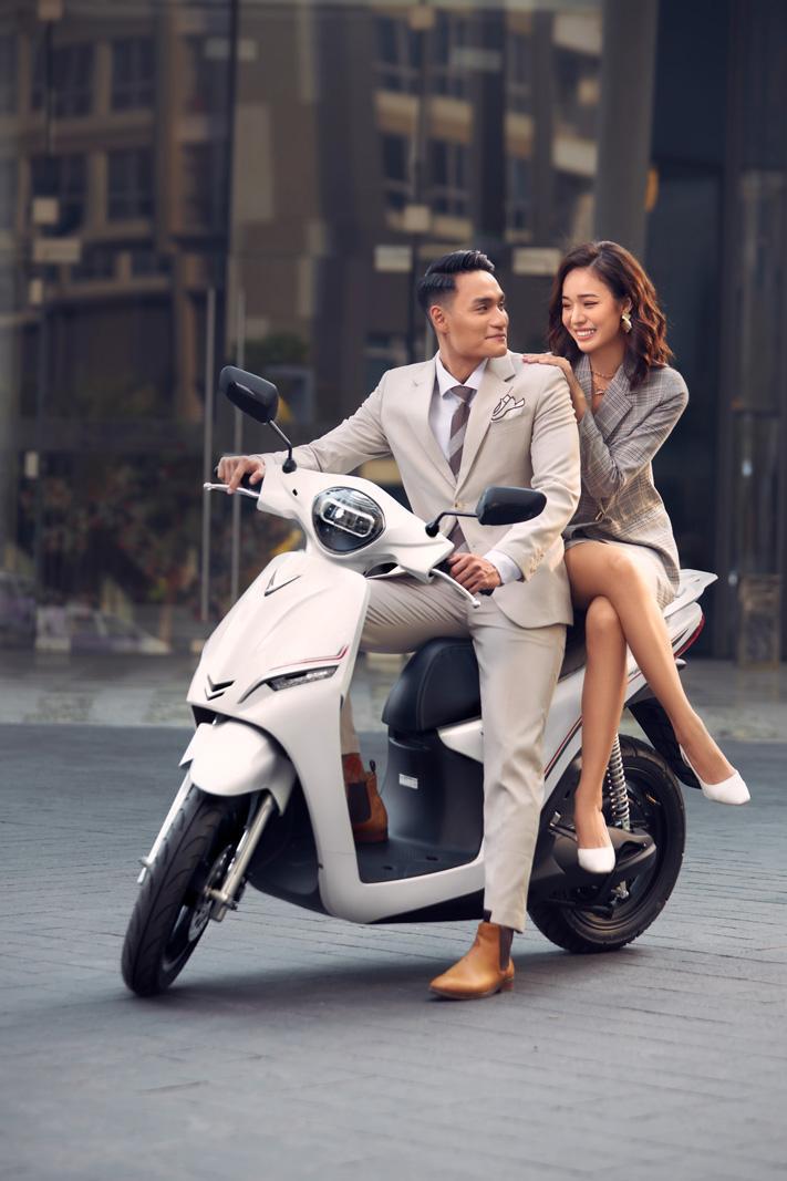 VinFast Feliz - Xe máy điện thời trang hiện đại thể hiện cá tính của giới trẻ - Ảnh 2.