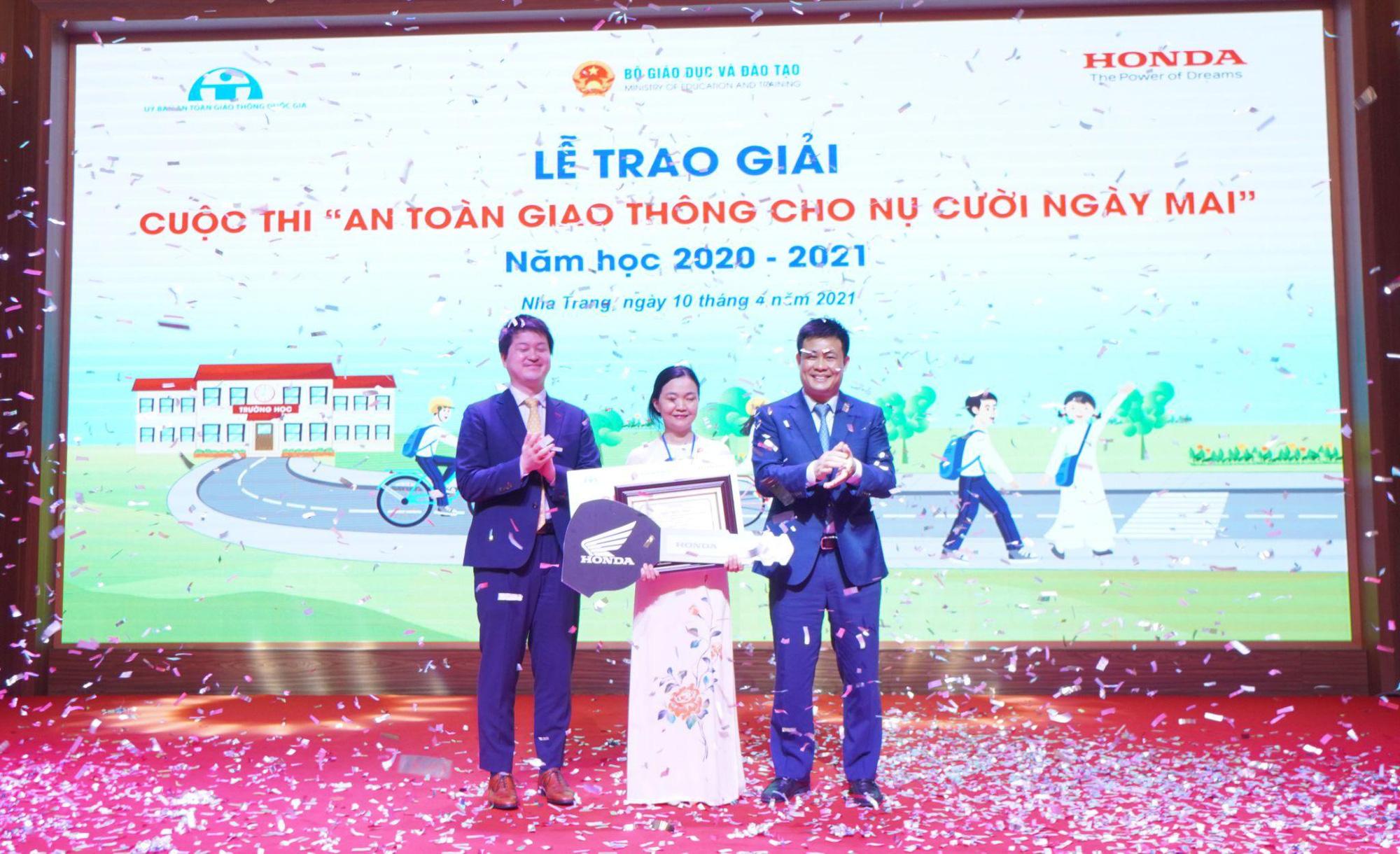 Honda Việt Nam nỗ lực giảm tai nạn giao thông ở lứa tuổi học sinh - Ảnh 3.