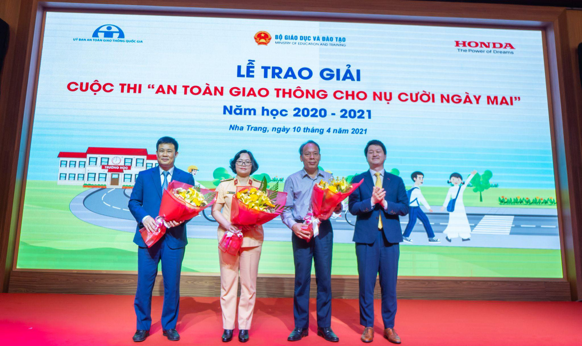 Honda Việt Nam nỗ lực giảm tai nạn giao thông ở lứa tuổi học sinh - Ảnh 4.