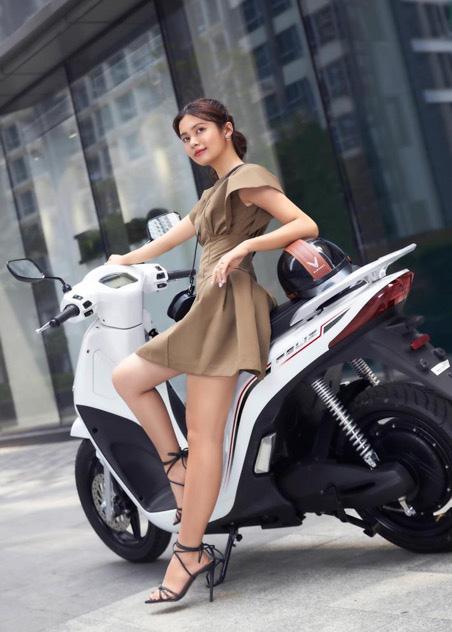 VinFast Feliz - Xe máy điện thời trang hiện đại thể hiện cá tính của giới trẻ - Ảnh 8.