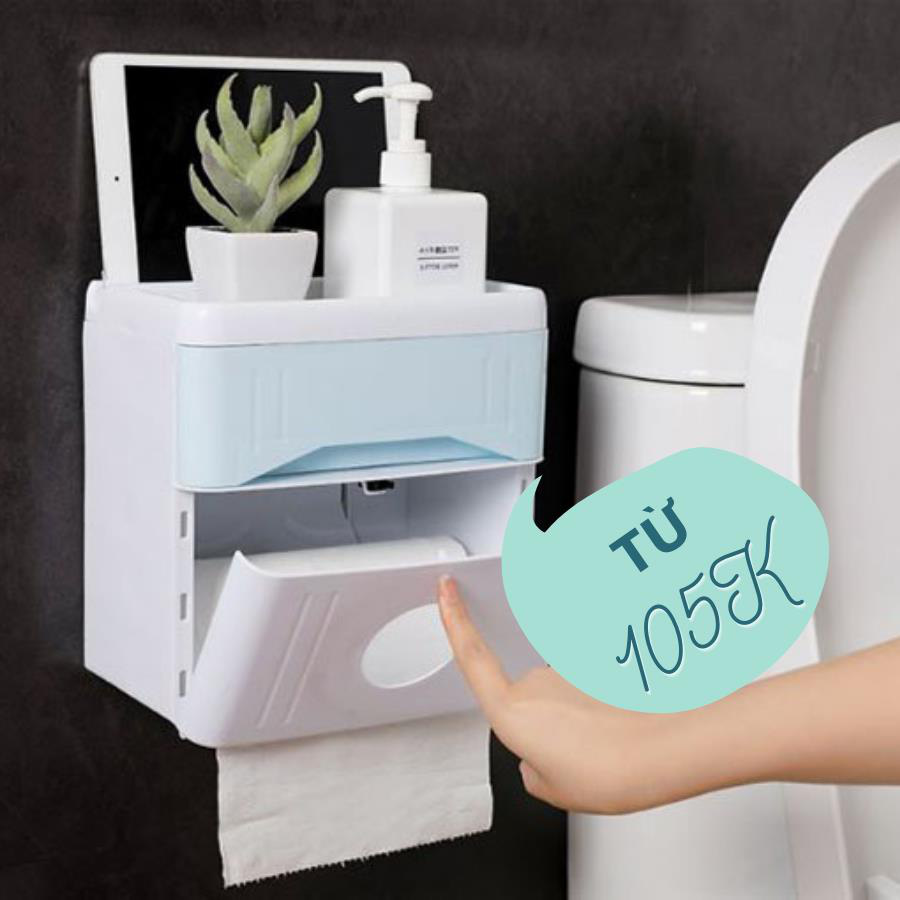 """Tất tần tật phụ kiện phòng tắm trên dưới 100K nhưng chất lượng """"5 sao"""" khỏi bàn! - Ảnh 1."""