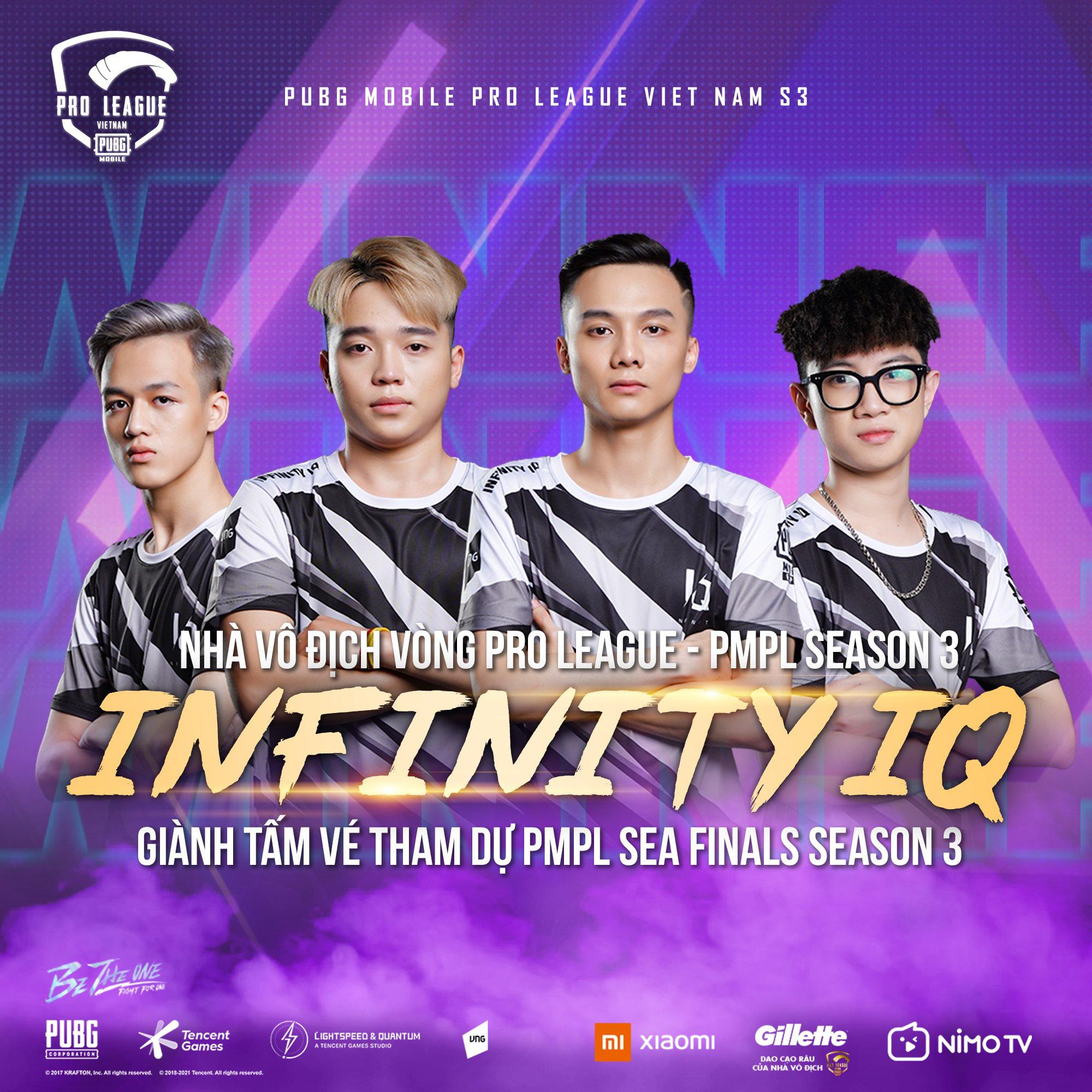 Infinity IQ thống trị vòng Pro League của PMPL VN S3 - Ảnh 1.