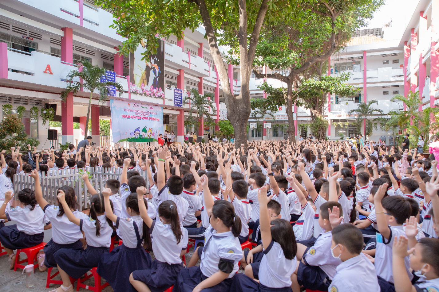 AEON Việt Nam tổ chức hoạt động ngoại khóa cho 50.000 học sinh TP.HCM - Ảnh 1.