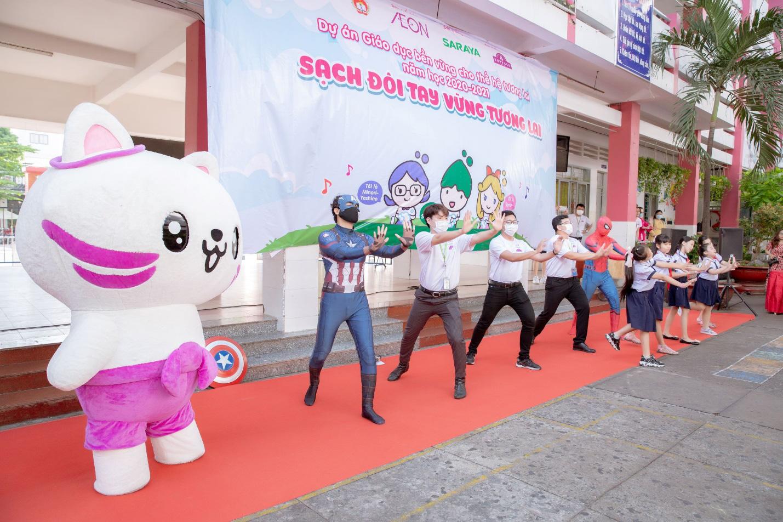 AEON Việt Nam tổ chức hoạt động ngoại khóa cho 50.000 học sinh TP.HCM - Ảnh 2.