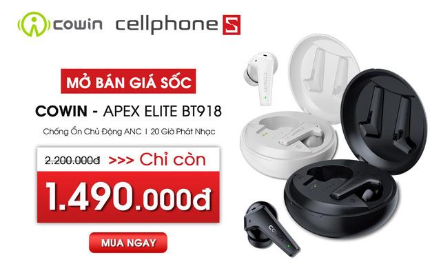 TOP 1 Amazon - Tai nghe chống ồn chủ động COWIN chính thức về Việt Nam. - Ảnh 4.