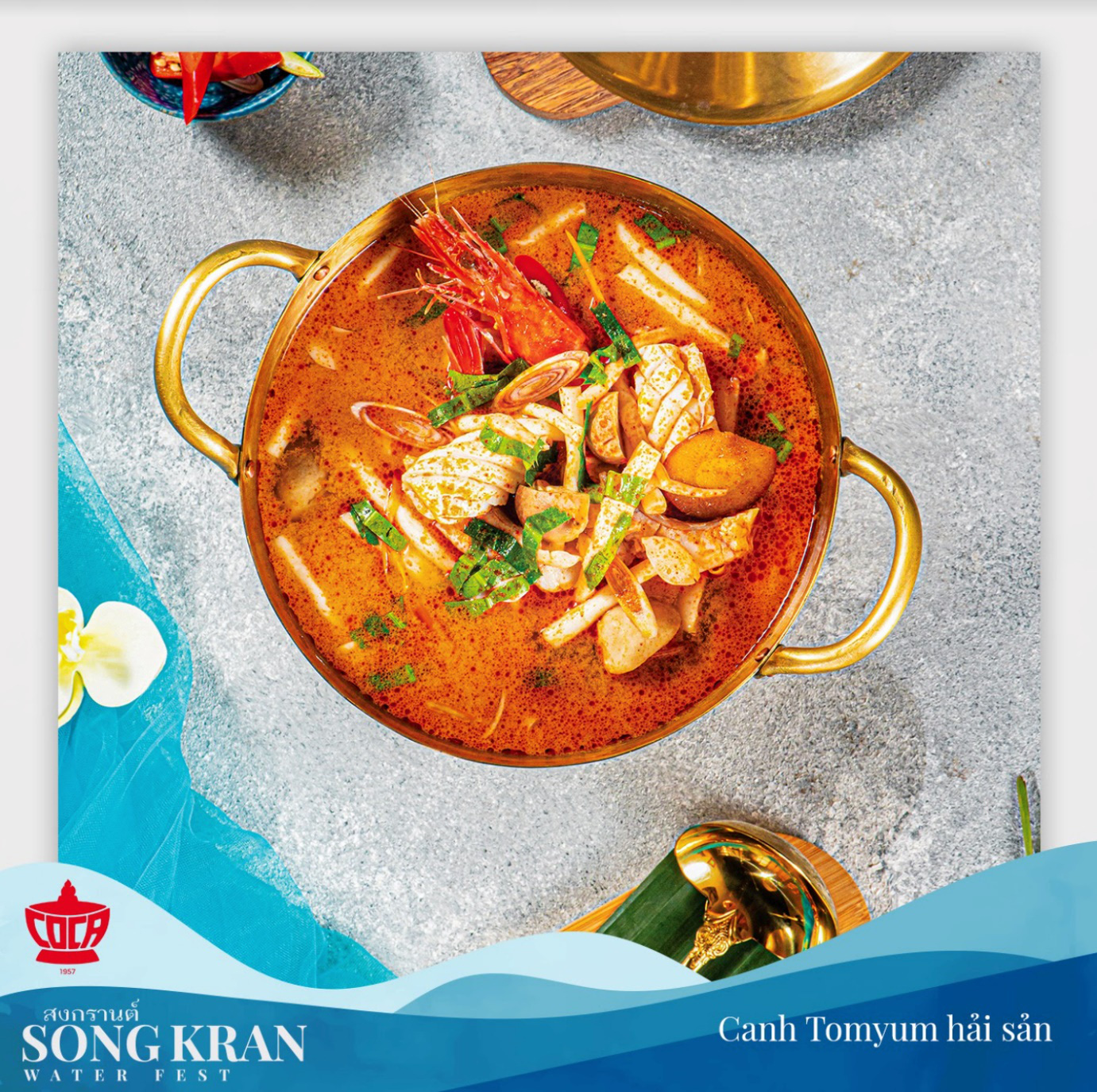 Songkran không chỉ là té nước, bởi có hàng loạt những món ngon khó cưỡng của xứ sở chùa Vàng cũng chờ bạn thưởng thức - Ảnh 3.