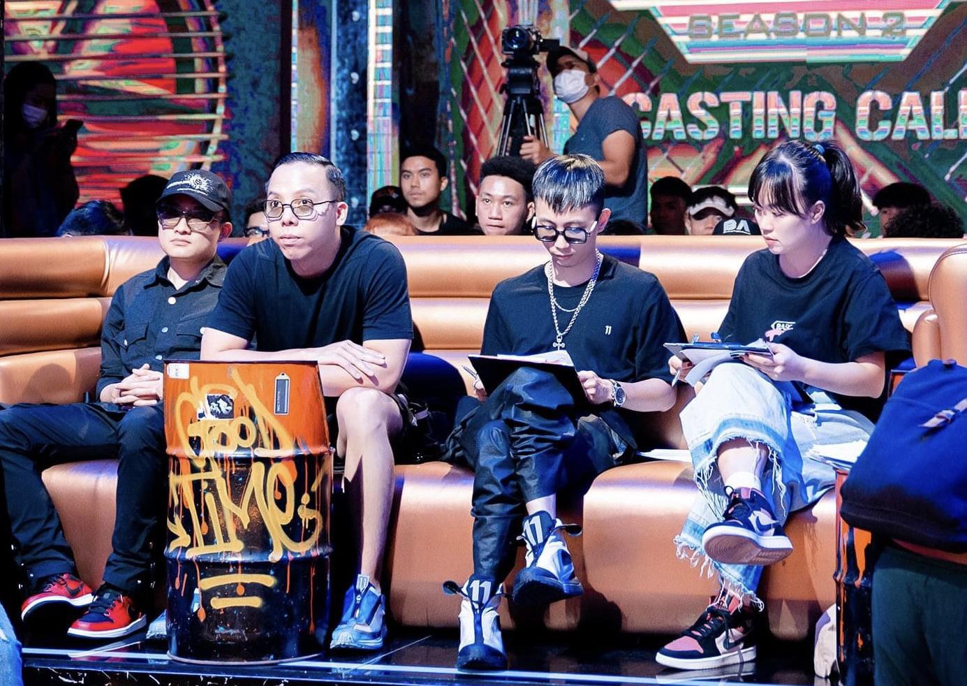 """Chỉ mới vòng casting, Rap Việt mùa 2 đã gây bão, liệu """"đế chế"""" SpaceSpeakers có tiếp tục tạo nên một mùa thi """"Ơ mây zing, gút chóp""""? - Ảnh 5."""