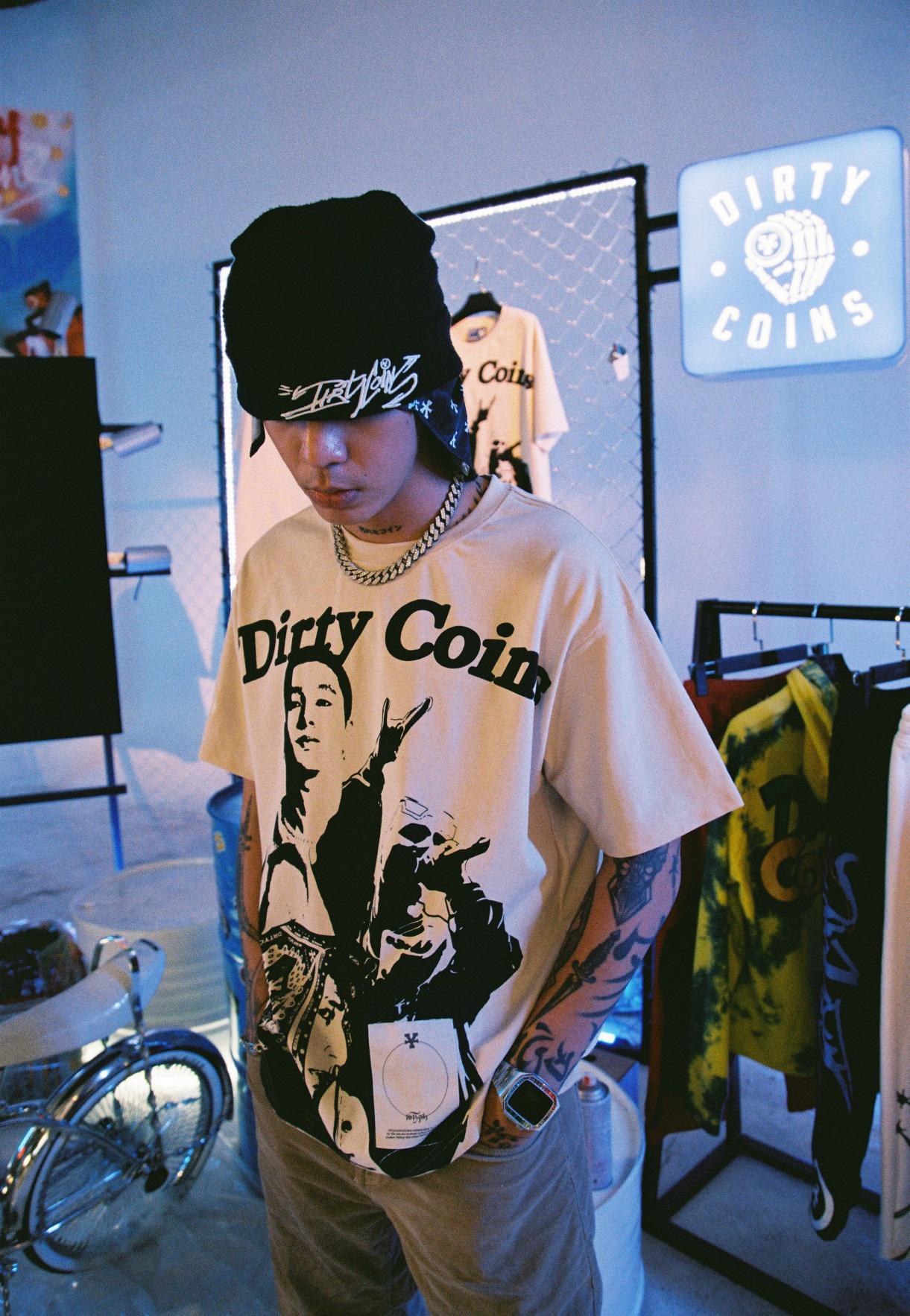 Cảm hứng về thời trang đậm chất hip-hop trong collection kết hợp giữa 16 Typh và DirtyCoins - Ảnh 6.