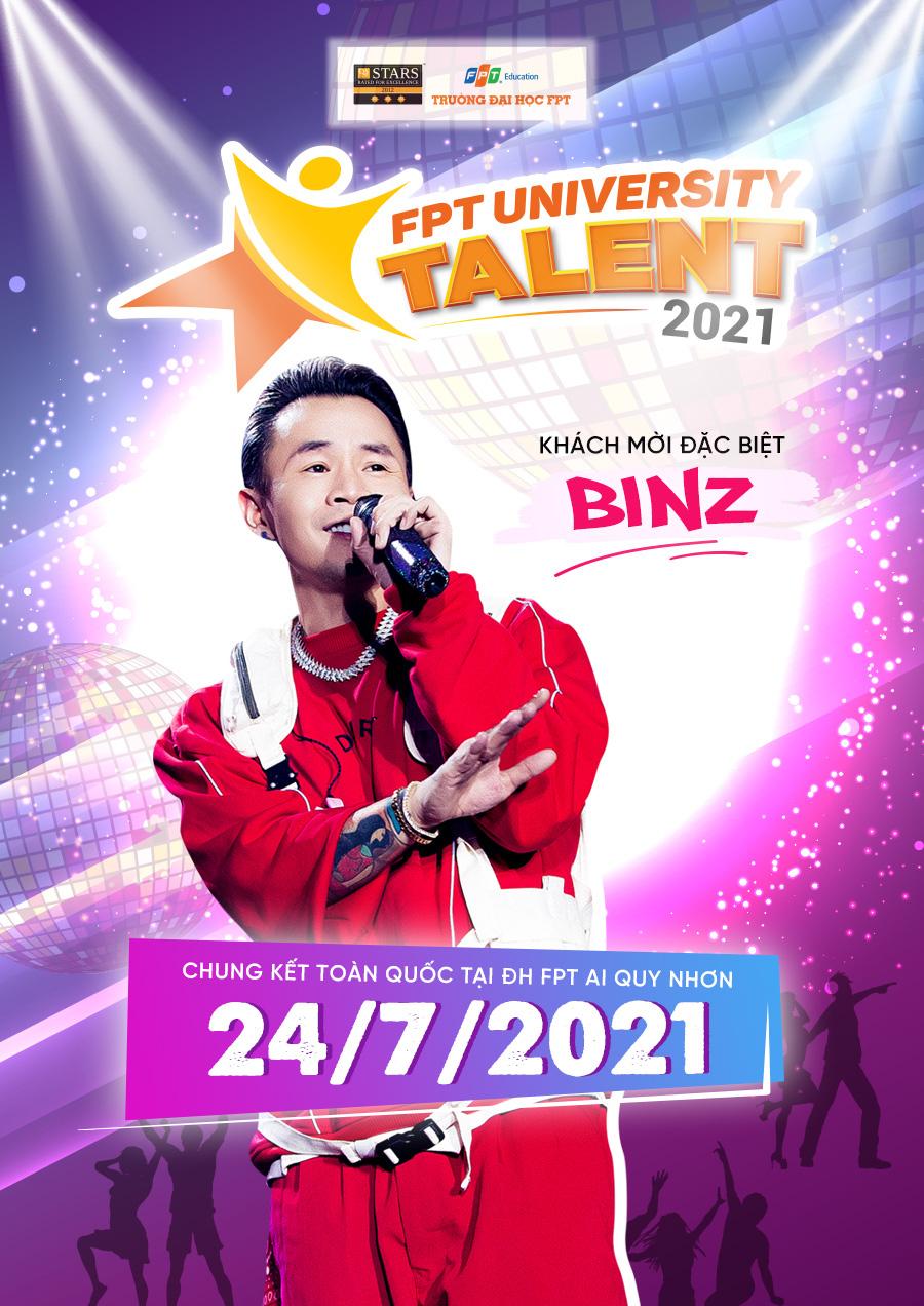 Binz đi tour đại nhạc hội 5 thành phố, Đại học FPT gửi vé cho người yêu Rap Việt - Ảnh 1.